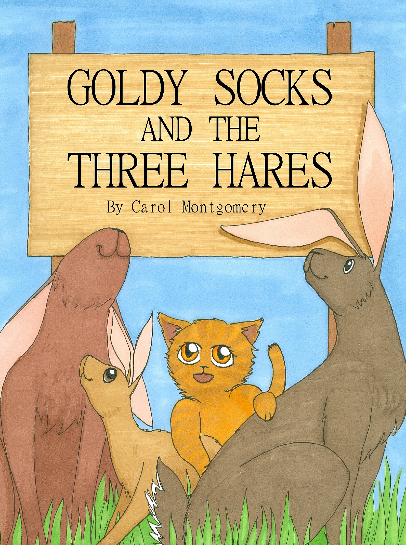 Goldy Socks and the Three Hares